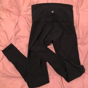 Lululemon Dark Gray Leggings